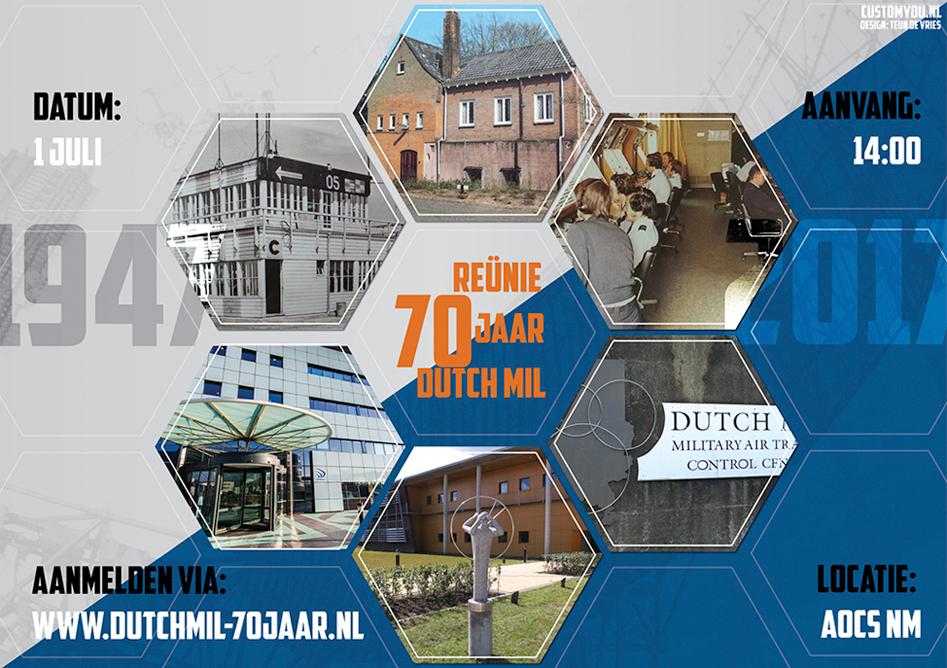 poster Dutchmil 70 jaar