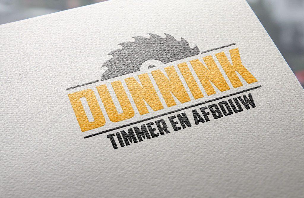 Logo Dunnink timmer & afbouw