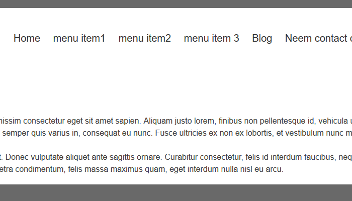 Responsive menu wordpress