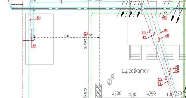 VH Techniek webdesign project